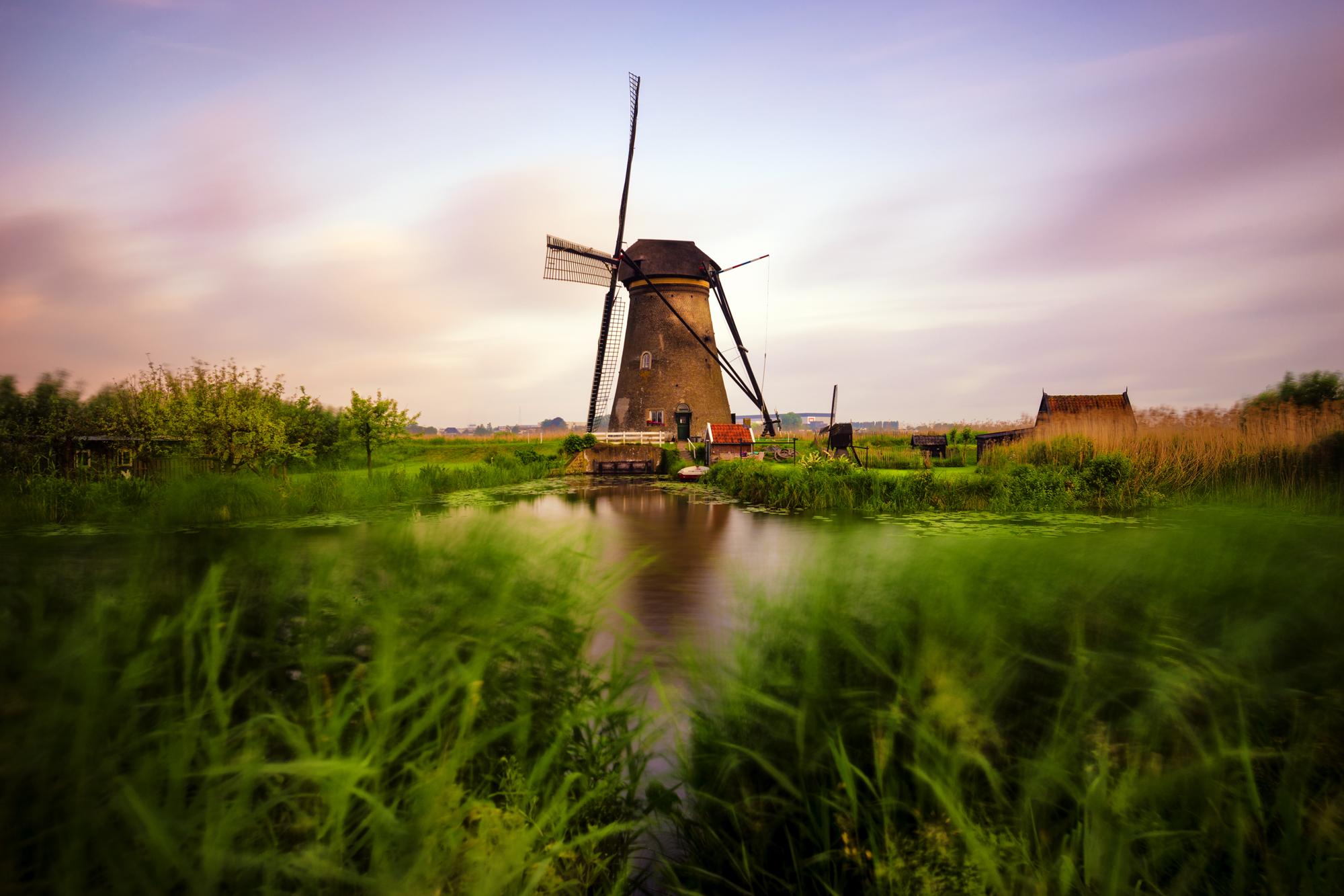 Windmills of Kinderdijk | Rotterdam, South Holland