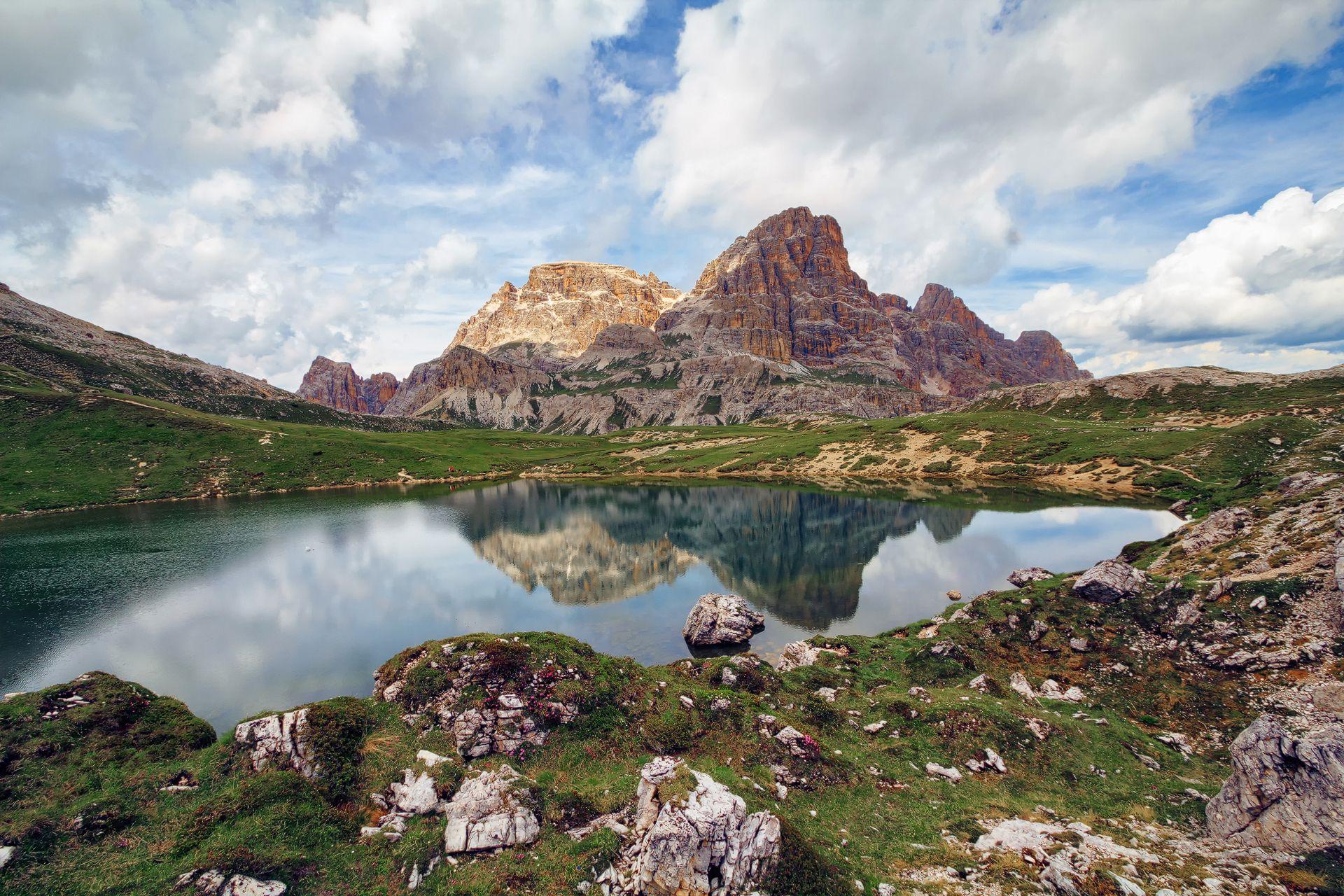 Bödenseen Schusterplatte, Drei Zinnen, Dolomiten, Südtirol