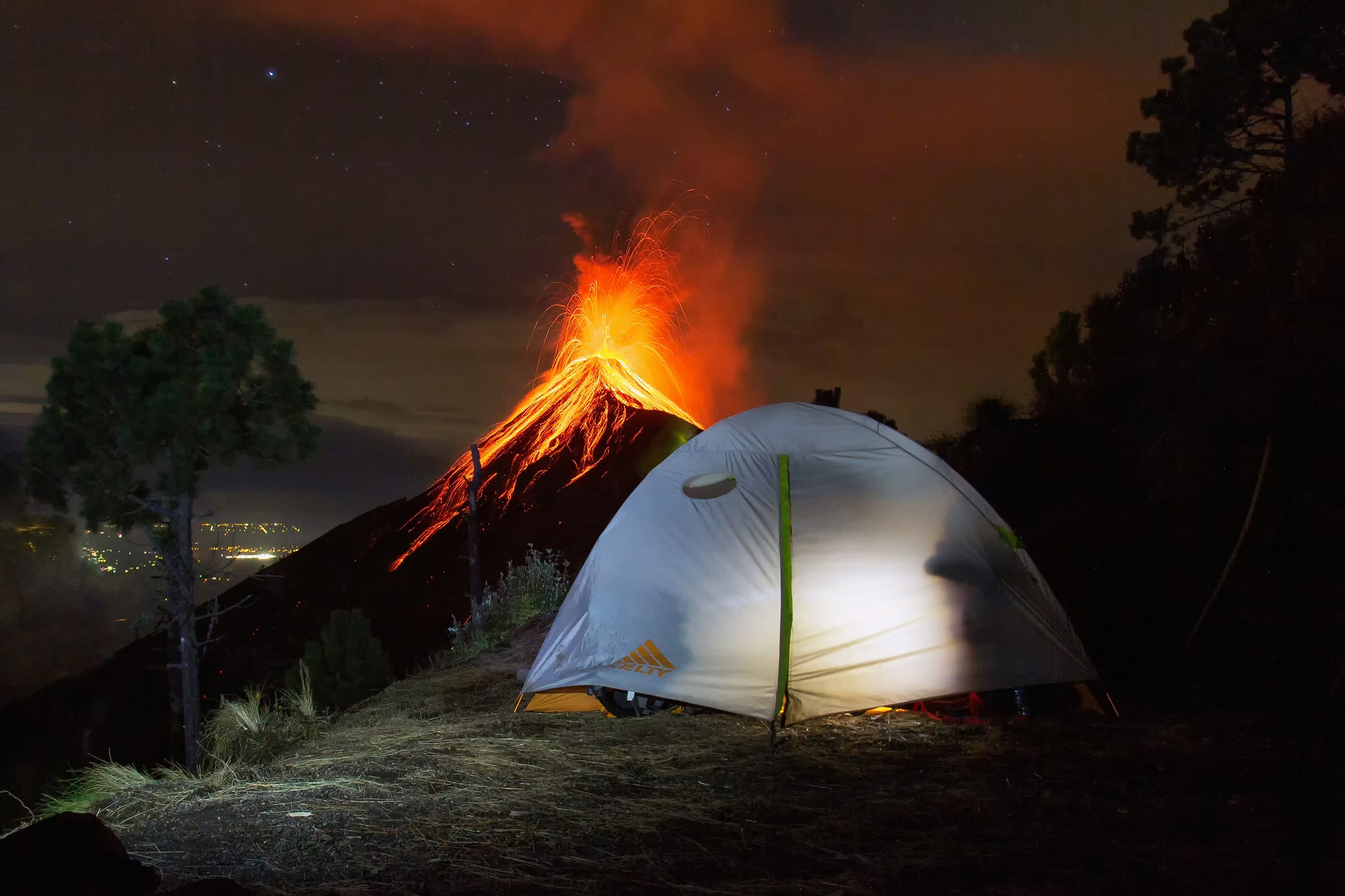 Acatenango Camping, Fuego, Vuklan, Fire, Feuer, Vulcano, South America, SA, Adventure, Antigua, Guatemala