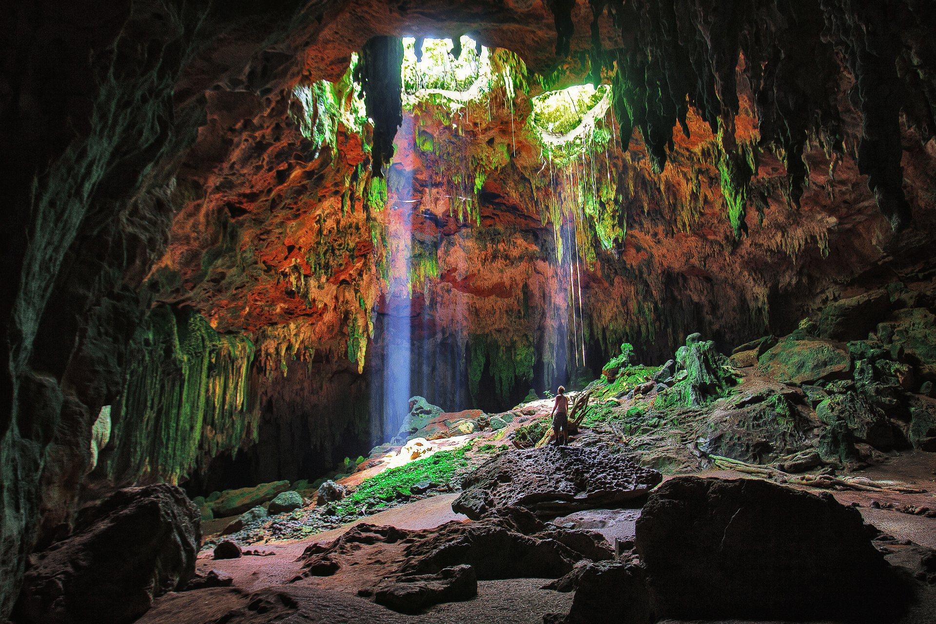cenote, Yucatán Peninsula, höhle, mexiko, mexico, Grutas de Loltun, loltun cave, Oxkutzcab, Peninsula